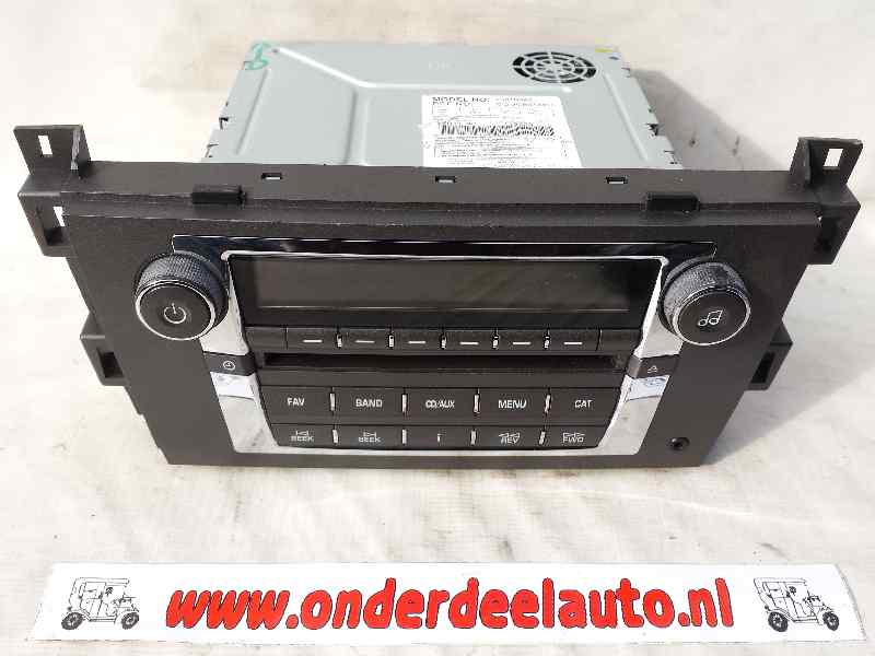 radio 11 model no 25818943 cadillac srx 07 09 1